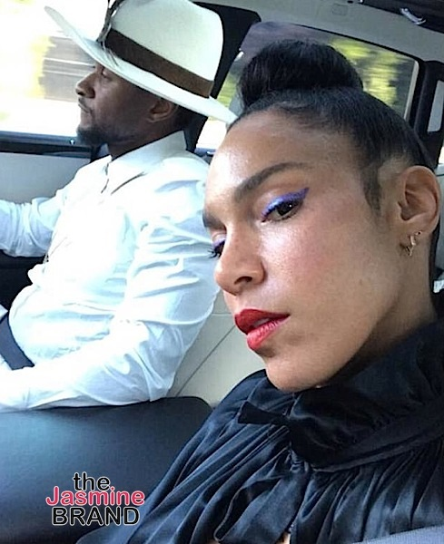 Usher's Wife (Sorta) Has Message To Alleged Herpes Accusers