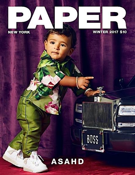 DJ Khaled's Son Asahd Makes Magazine Cover Debut [Photos]