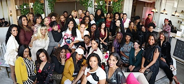 Karen Civil Brunch: Teyana Taylor, Elise Neal, Antonique Smith, Dreezy Attend [Photos]