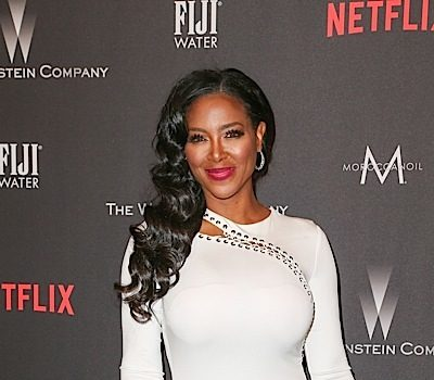 Kenya Moore Reacts To Alleged Pregnancy w/ This Message