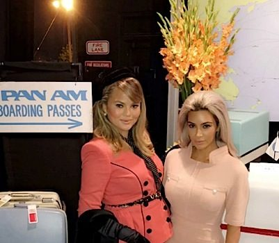 Chrissy Teigen Celebrates B-Day w/ Pan Am-Themed Bash: Kanye West, Kim Kardashian, Kris Jenner Spotted