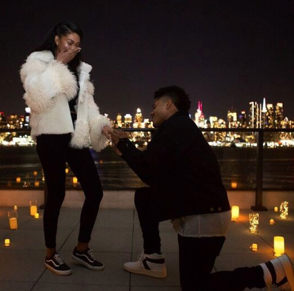 Super Model Chanel Iman Engaged!