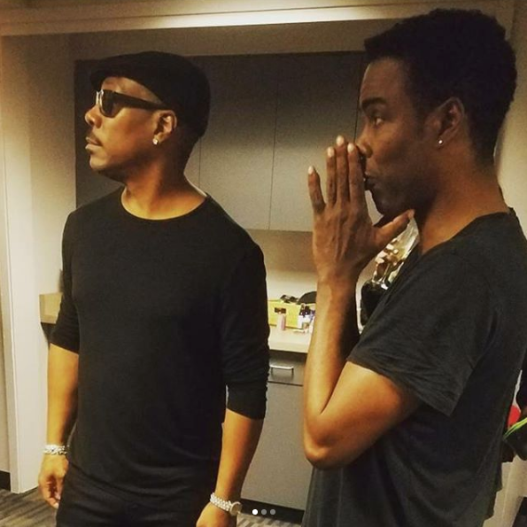 Chris Rock Only Cares About Eddie Murphy's Opinion + Common, Issa Rae, Dr. Dre Spotted [Photos]