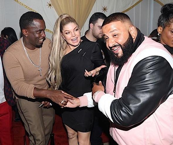 DJ Khaled Turns 42 w/ Diddy, Teyana Taylor, Usher, Pharrell Williams, Mary J. Blige, Jamie Foxx [Photos]
