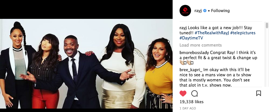"""The Real"" - We're NOT Hiring Ray J"