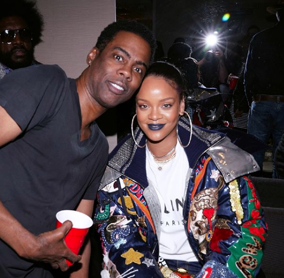 Chris Rock's Black Out Tour - Trevor Noah, Charlamagne Tha God, Questlove, Jerry Seinfeld, Rihanna Spotted
