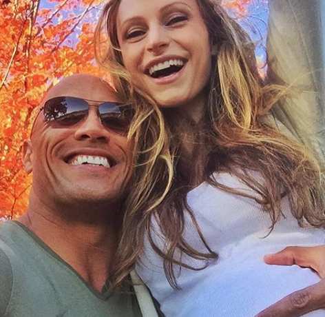 "Dwayne ""The Rock"" Johnson & Girlfriend Expecting Baby Girl #2 [Ovary Hustlin']"