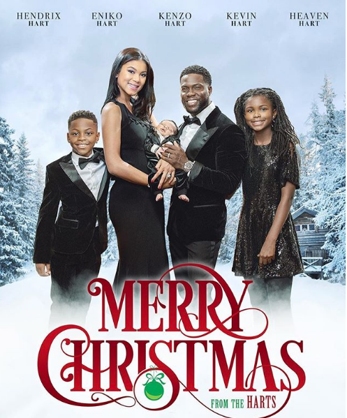 Kevin Hart Reveals Holiday Card