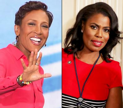"Omarosa Refers To Robin Roberts As ""Petty"": It's a black woman civil war."