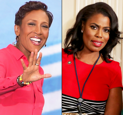 "Omarosa Refers To Robin Roberts As ""Petty"": It's a black woman civil war."