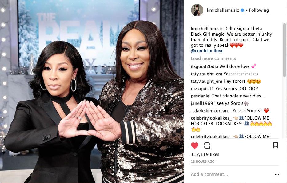 Loni Love & K.Michelle End Their Feud