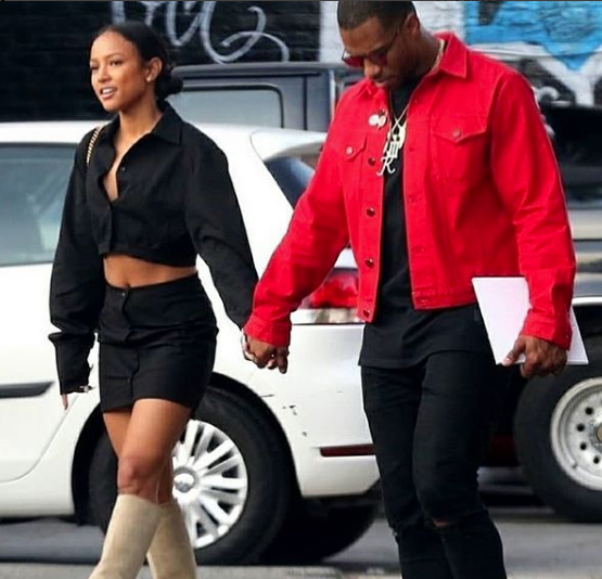 Karrueche Tran & Victor Cruz Spotted On Date [Photos]