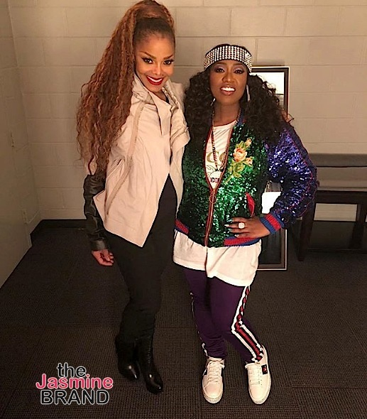 "The Rock's GF Shows Off Baby Bump, ""Power"" Cast Breaks Bread + Missy Elliott, Fantasia & Big Boi Pose w/ Janet Jackson"