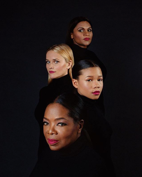 Oprah, Mindy Kaling, Storm Reid & Reese Witherspoon For TIME