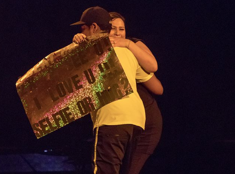 Jay-Z Stops Concert, Brings Fan On Stage Who Beat Cancer Twice [VIDEO]