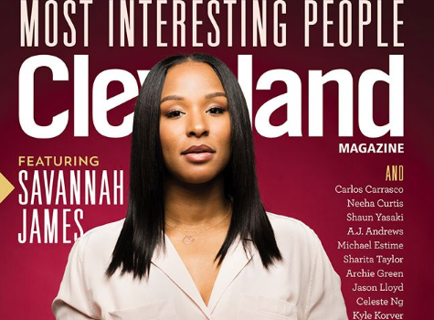 LeBron James' Wife, Savannah, Covers Cleveland Mag