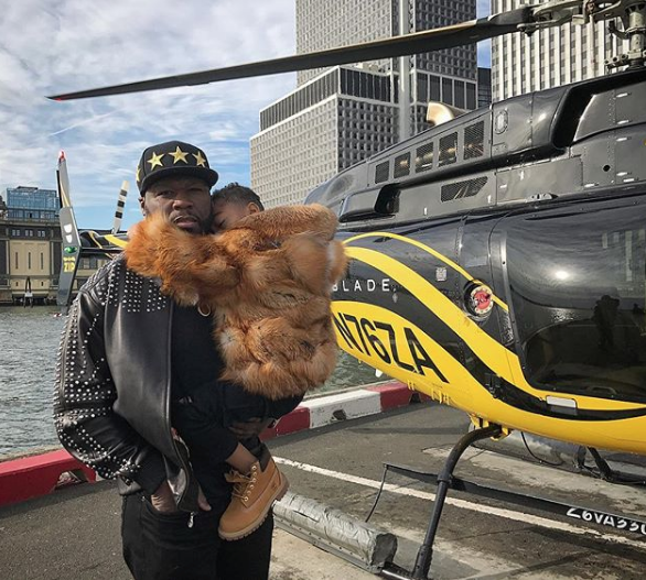 Drake Hits The Studio, Usher Sweats For Yoga + 50 Cent Takes Son On Helicopter Ride