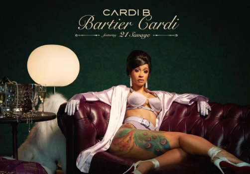 "Cardi B Feat. 21 Savage ""Bartier Cardi"" [New Music]"