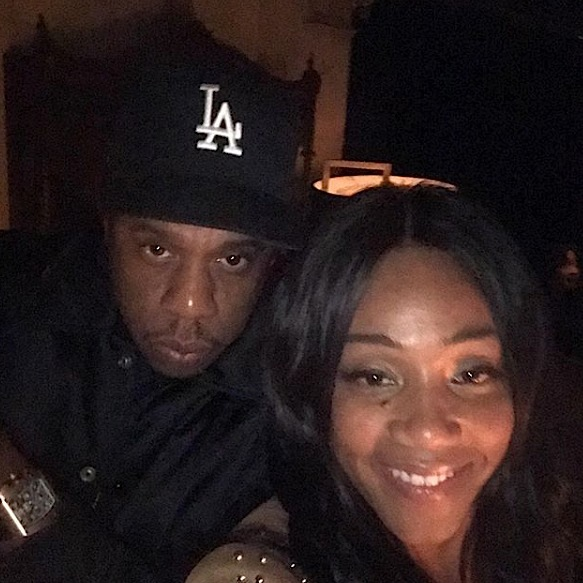 Tiffany Haddish, Juelz and His Dad + Beyonce Hit Jay-Z's 444 Show [Photos]