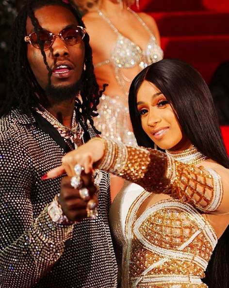 Cardi B Warns Offset: You cheat again, I'm leaving!