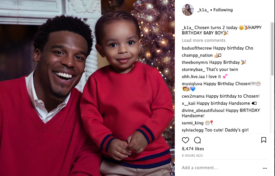 Cam Newton's Son Turns 2, Joe Budden Debuts Newborn Son + More Cuteness From Serena Williams' Baby Girl