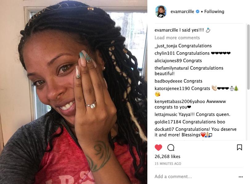 Eva Marcille Is Engaged!