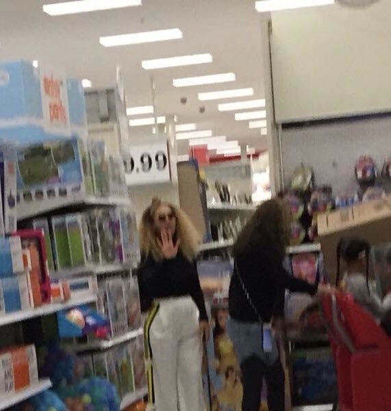 Beyonce & Blue Ivy Shop At Target [Spotted. Stalked. Scene.]