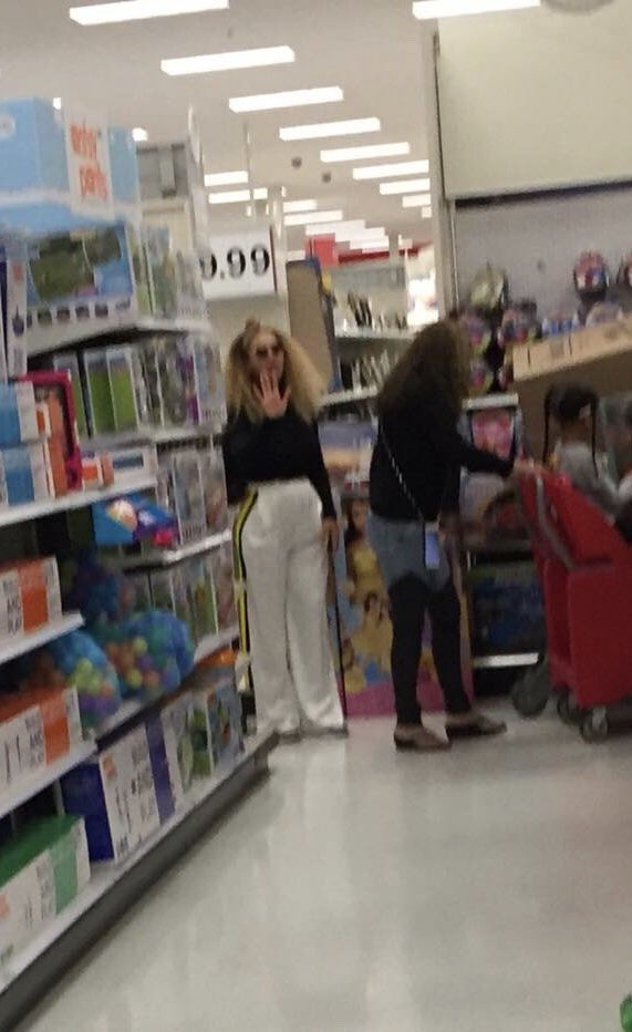 Beyonce & Blue Ivy Shop At Target