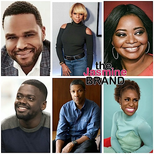 Golden Globes: Mary J. Blige, Issa Rae, Denzel Washington, Daniel Kaluuya, 'Black-ish', 'Get Out' Nominated!