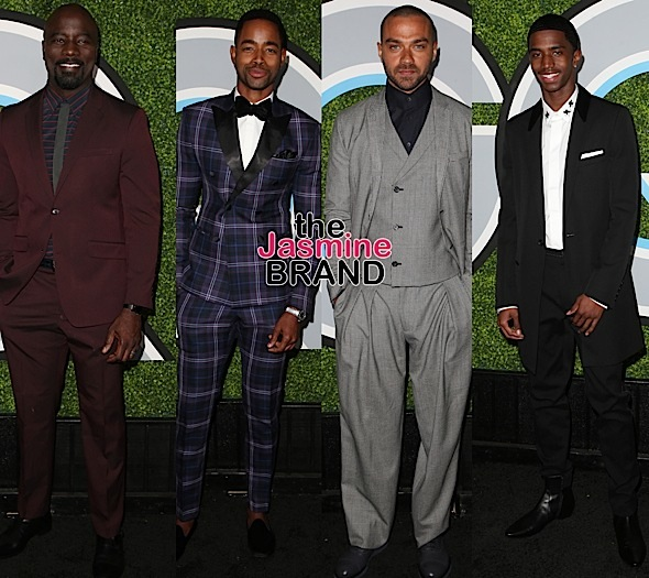 """Men Of The Year"" Bash: Wiz Khalifa, Seryah, Kid Ink, Mike Colter, Jay Ellis, Jesse Williams, Christian Combs"