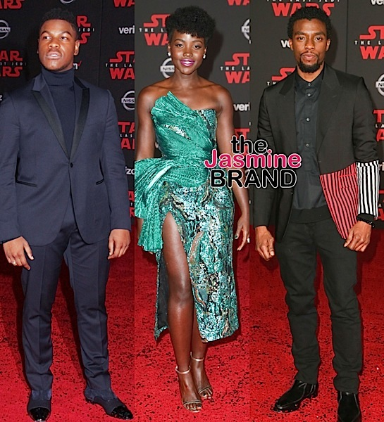 Star Wars: The Last Jedi Premiere: Spike Lee, Chloe x Halle, Storm Reid, John Boyega, Lupita Nyong'o Attend