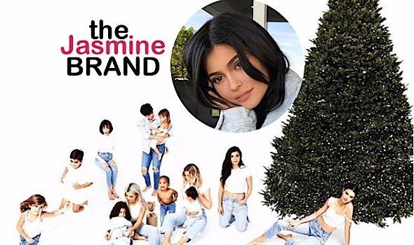 A Pregnant Kylie Jenner Skips Kardashian Holiday Card [Ovary Hustlin']