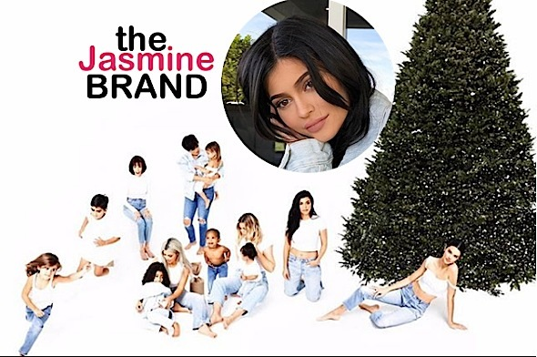 A Pregnant Kylie Jenner Skips Kardashian Holiday Card