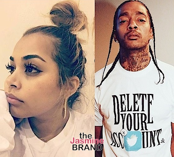 Nipsey Hussle Is Still Crushing On Ex Girlfriend Lauren London [Photo]