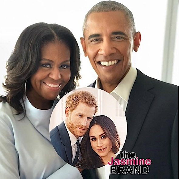Prince Harry & Meghan Markle Invited Barack & Michelle Obama To Wedding