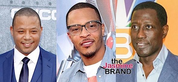 Terrence Howard, T.I., Wesley Snipes To Star In Katrina Drama 'Cut Throat City'
