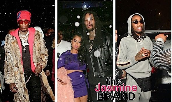 Celebs Hit ATL Club During Winter Storm: Migos, 21 Savage, Young Thug, Lil Uzi Vert, Waka Flocka Spotted