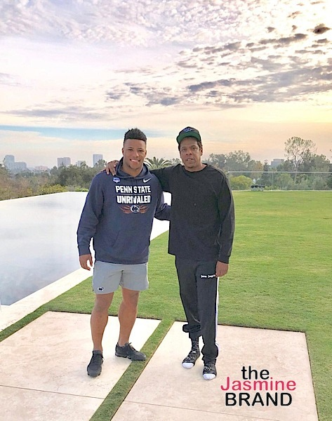 Jay-Z Spotted at Bel-Air Mansion Celebrating New Roc Nation Sports Signee