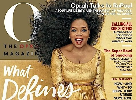 Oprah Channels Diana Ross, Rocks Purple Hair For New Trio Cover [Photos]