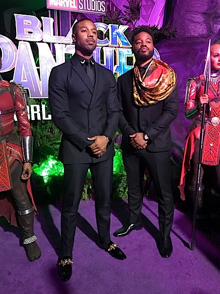 Black Panther Premiere: Angela Bassett, Danai Gurira, Daniel Kaluuya, Issa Rae, Sterling K. Brown Attend [Photos]