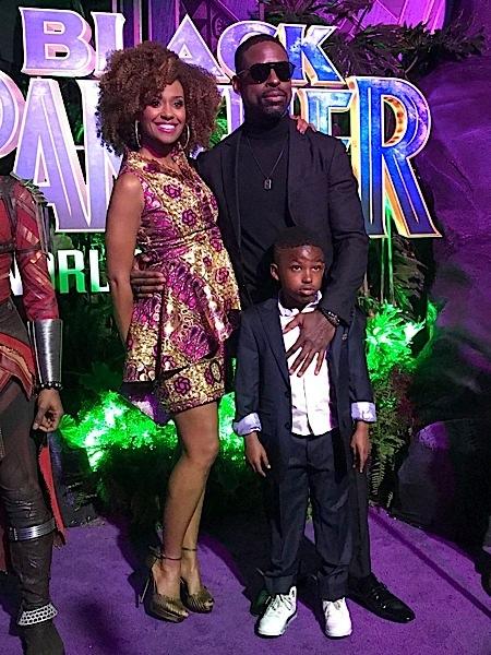 Black Panther Premiere Angela Bassett Danai Gurira