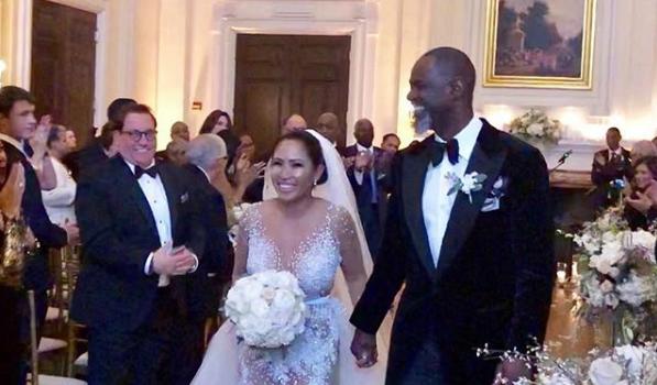 Brian McKnight Is Married! [Photos]