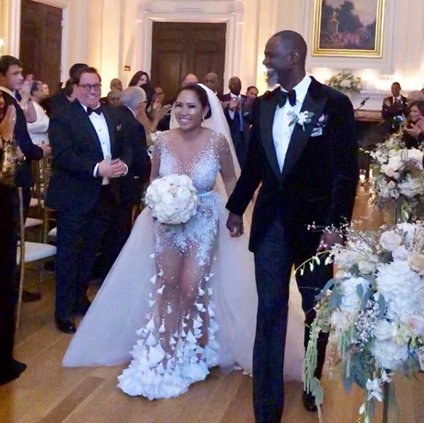 Brian McKnight Is Married! [Photos]