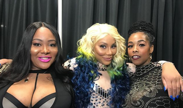 Tamar Braxton's BFF Explains Why She Tried To Bring Khia On Stage + Reveals Reason Vincent Herbert Was At Concert