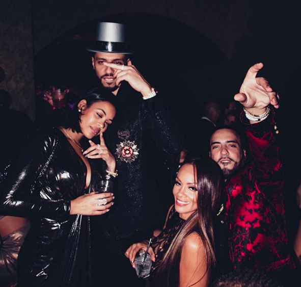 Evelyn Lozada & French Montana Make 1st Public Appearance Together