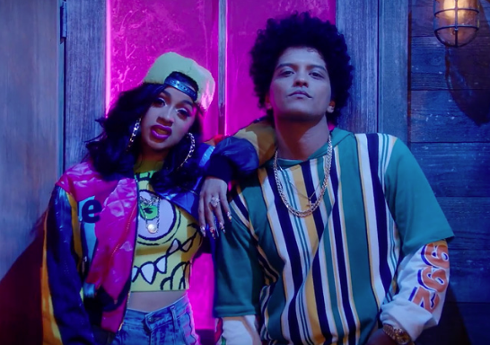 Bruno Mars & Cardi B Channel 'In Living Color' In 'Finesse' (Remix) Video