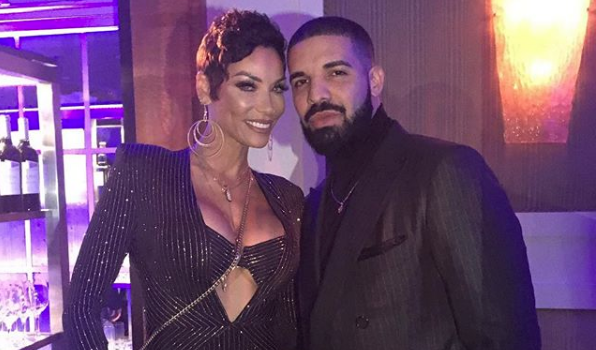 Nicole Murphy Celebrates 50th Bash w/ Drake [Photos]
