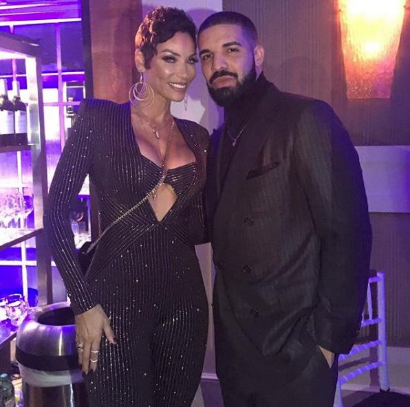 Nicole Murphy Celebrates 50th Bash w/ Drake [Photos]