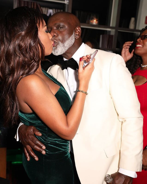 Peter Thomas Debuts New Girlfriend, Who Resembles Cynthia Bailey [Photos]