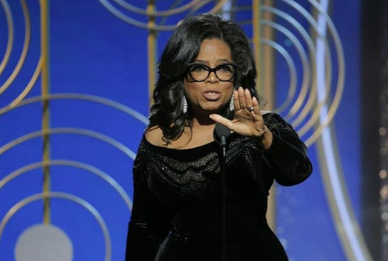 Oprah Delivers Impeccable Golden Globes Speech: A new day is on the horizon.